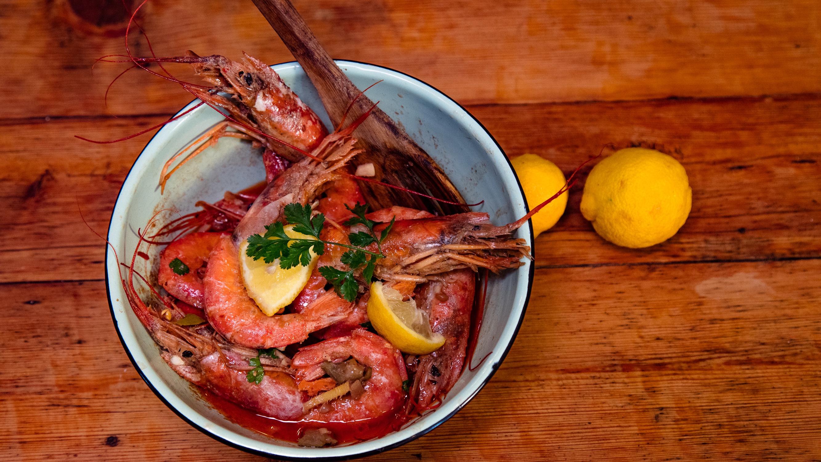 RESEP: Portugese prawns